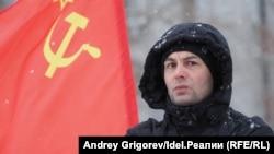 A Communist Party rally in Kazan in Russia's republic of Tatarstan in February 2020