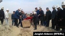 Захоронение мумии в Баткенской области КР, 14 октября 2017 г.