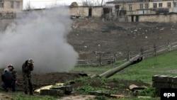 Бої в Нагірному Карабасі (фотогалерея)