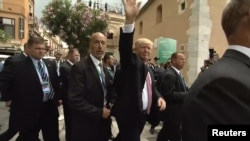Summitul G7, Taormina, Sicilia, 26 mai 2017