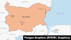 Harta Bulgariei