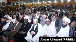 رجال دين في مؤتمر عن حوار الأديان بالنجف