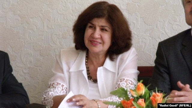 Gulrukhsor Safieva is known for her verses criticizing the Tajik government.