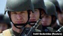 Славенскія вайскоўцы падчас вучэньняў НАТО ў Грузіі. Ілюстрацыйнае фота