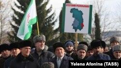 Территориальный спор между Чечней и Ингушетией длился уже многие годы