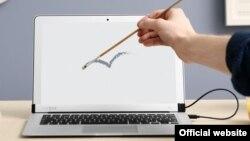 Компьютер AirBar Apple. Иллюстративное фото.