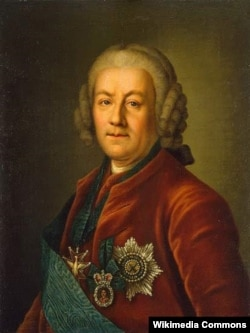 Алексей Петрович Бестужев-Рюмин (1693-1766). Неизвестный художник