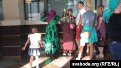 "Предполагаемые беженцы на ж/д станции ""Брест"""