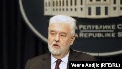 Serbian Prime Minister Mirko Cvetkovic