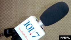 Radio Azadliq broadcasts in Azerbaijan on 101.7 FM