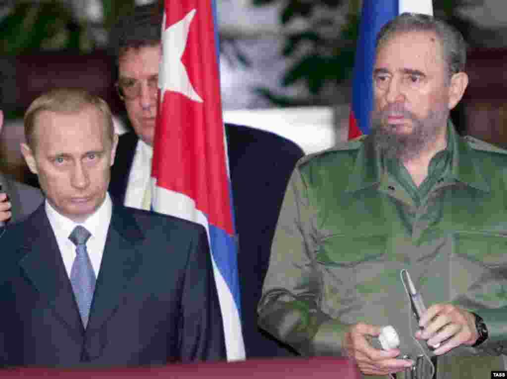 С Владимиром Путиным, 15 декабря 2000 года