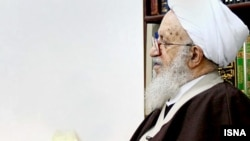 Ayatollah Naser Makarem Shirazi one of the most influential Ayatollahs currently in Iran