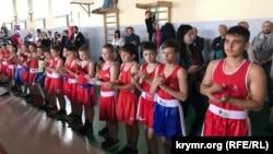 Участники турнира по боксу в Крыму, 11 мая 2019 года