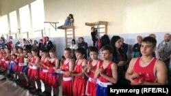Qırımdaki boks yarışınıñ iştirakçileri, 2019 senesi mayısnıñ 11-i