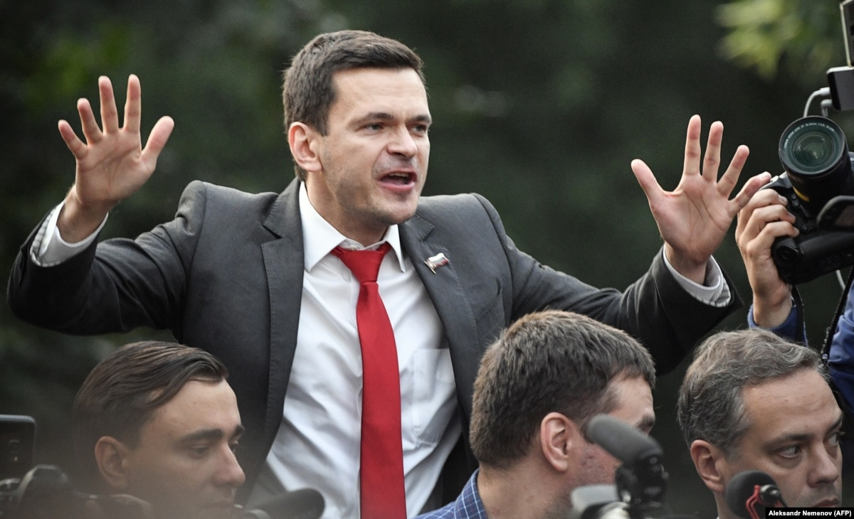 Russian Opposition Politician Barred From Election To Moscow City Council Vows To Appeal