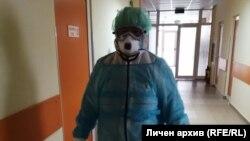 Д-р Румяна Нановска, директор на болницата в Ловеч, която е изолирана заедно с пациента с коронавирус