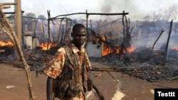 Pamje nga Sudani Jugor, 23 prill 2012.