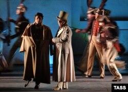 Вистава у Большому театрі за мотивами опери Прокоф'єва, Москва, грудень 2005 року