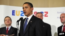 U.S. President Barack Obama voiced support for Turkey joining the EU