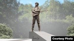 Идейное решение памятника Виктору Цою на проспекте Ветеранов в Петербурге