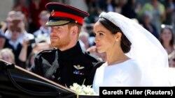 Մեծ Բրիտանիա - Արքայազն Հարրիի և Մեգան Մարքլի պսակադրության արարողությունը, Վինձորյան դղյակ, 19-ը մայիսի, 2018թ․