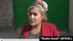 Мунира Салимзода, раиси ҷамоати шаҳраки Навободи ноҳияи Рӯдакӣ.