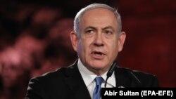 بنیامین نتانیاهو در نشست دولت جدیدش سوگند یاد کرد که نگذارد «ایران به بمب اتم دست یابد».