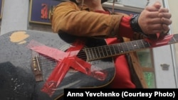 Акция протеста уличных музыкантов в Москве в 2015 году