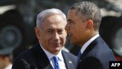 ԱՄՆ-ի նախագահ Բարաք Օբամա և Իսրայելի վարչապետ Բենյամին Նաթանյահու, արխիվ