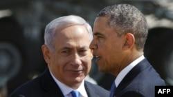 Барак Обама и Биньямин Нетаньяху, 20 марта 2013