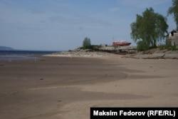 Обмелевшая Волга
