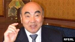 Бұрынғы Қырғызстан президенті Асқар Ақаев. Мәскеу, 23 наурыз 2010 жыл