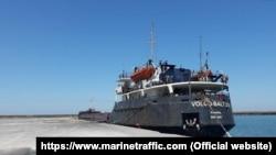 Затонувшее в Черном море грузовое судно VOLGO BALT, архивное фото