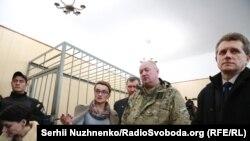 Микола Коханівський під час засідання суду, 24 жовтня 2017 року