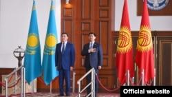 Кыргызстанга Казакстандын премьер-министри Аскар Мамин расмий сапар менен келди. 12.07.2019