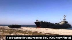 Навчання «Шторм 18»: десантування морської піхоти з СДК «Юрій Олефіренко», 31 серпня 2018 р.