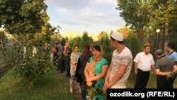 Видои сокинони Тошканд бо Каримов
