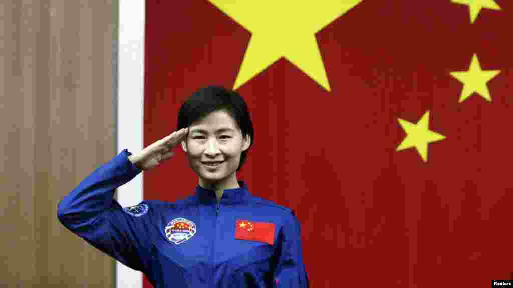 China has announced plans to make 33-year-old fighter pilot Liu Yang that country's first woman in space as part of a mission slated for liftoff from the Gobi Desert on June 16.
