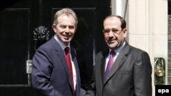 تونی بلر در دیدار با نوری المالکی حمایت خود را از دولت عراق اعلام کرد