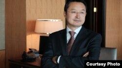 Предприниматель и ученый из Монголии Алаубек Абдильулы.