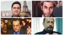 عبدالمالک ریگی، روح الله زم، بالا و محمدرضا مدحی و فرود فولاوند، پائین