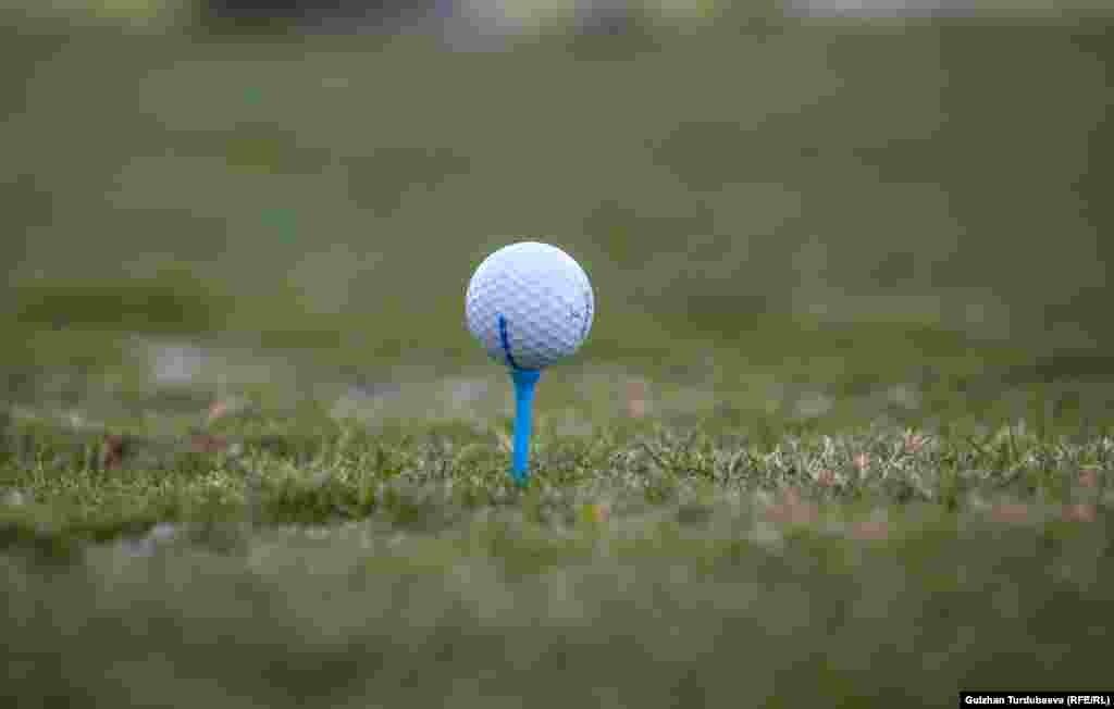 Расходы на один день игры в гольф составляют от 2500 до 5 тысяч сомов. Игра на девяти полях - 1500 сомов. Игра в два круга, то есть на 18 полях - 2500 сомов. Аренда клюшек на день 400 сомов. Стоимость 45 мячей - 200 сомов. Услуги тренера - 1000 сомов.