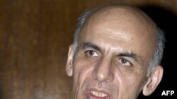 Former Afghan Finance Minister Ashraf Ghani Ahmadzai in 2004