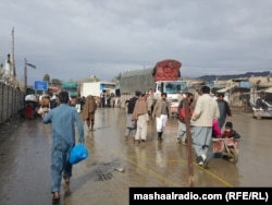 The Torkham border crossing between Pakistan and Afghanistan.