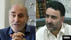 مصطفی تاجزاده و بهزاد نبوی دو عضو سازمان مجاهدین انقلاب