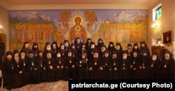 A Holy Synod held in 2017.