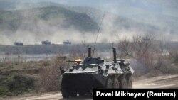 Алматы облысындағы әскери жаттығу. Көрнекі сурет.