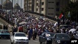 Եգիպտոս - Մուհամեդ Մուրսիի կողմնակիցների ցույցը Կահիրեում, 8-ը օգոստոսի, 2013թ․