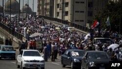 هواداران مرسی در قاهره هشتم اوت