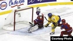Финал молодежного чемпионата мира по хоккею. Швеция - Россия 1:0. Калгари, 6 января 2012 г